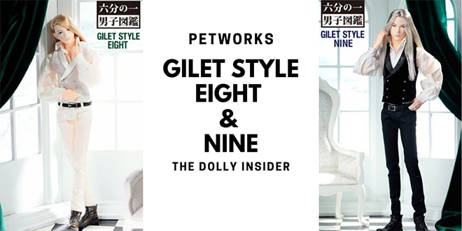 One-Sixth Scale Boys & Male Album: Gilet Style Eight & Nine - PetWORKs