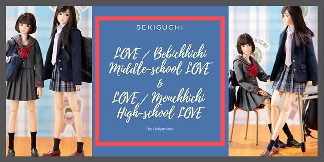 LOVE Bebichhichi Middle-School LOVE & LOVE Monchhichi High School LOVE by Sekiguchi