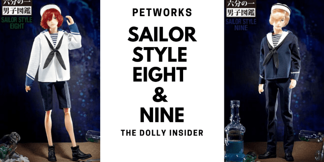 One-Sixth Scale Boys & Male Album: Sailor Style Eight & Nine – PetWORKs