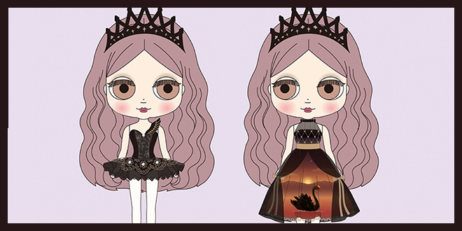 Middie Blythe Odile Magical Trickery and Love May 2020