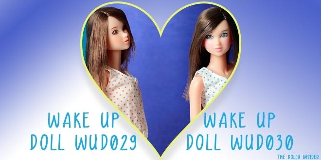 Wake-Up Momoko DOLL WUD029 & Wake-Up Momoko DOLL WUD030 by Sekiguchi