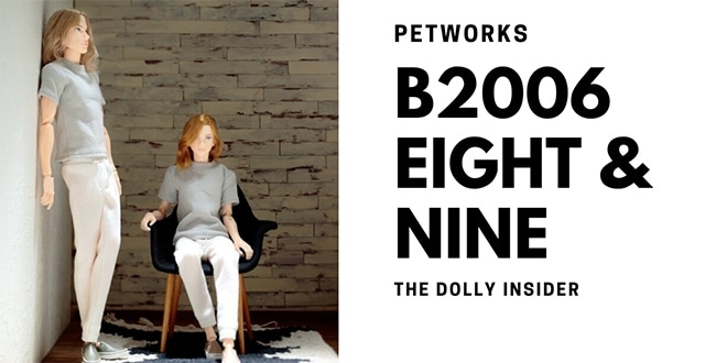 One-Sixth Scale Boys & Male Album: Eight B2006 and Nine by PetWORKs