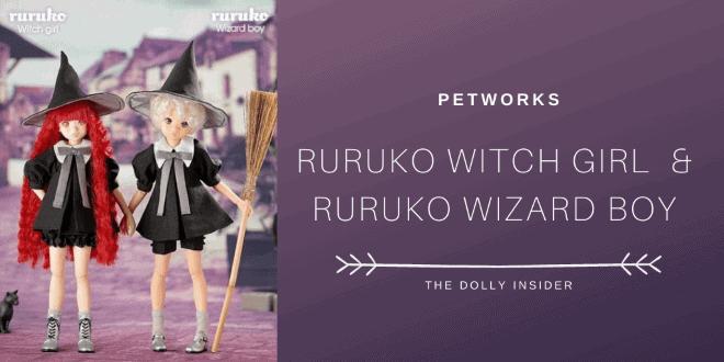 Ruruko Witch Girl & Ruruko Wizard Boy - PetWORKs