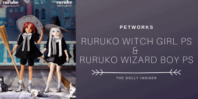 Ruruko Witch Girl PS & Ruruko Wizard Boy PS - PetWORKs