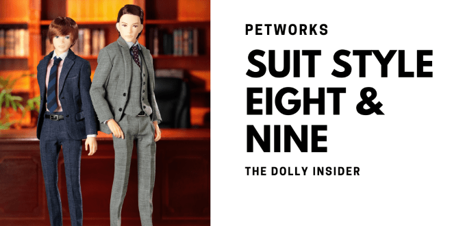 One-Sixth Scale Boys & Male Album: Suit Style Eight and Nine by PetWORKs