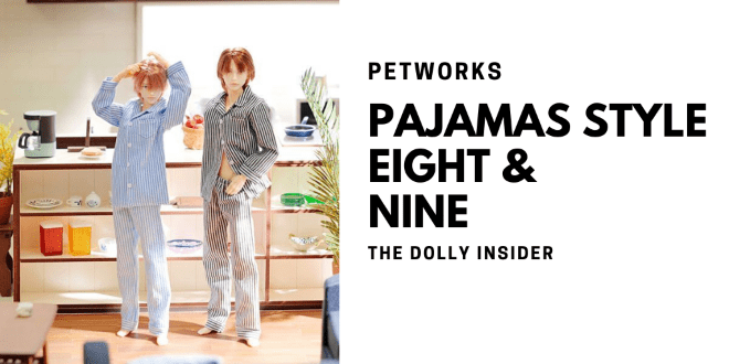 One-Sixth Scale Boys & Male Album: Pajamas Style Eight and Nine by PetWORKs