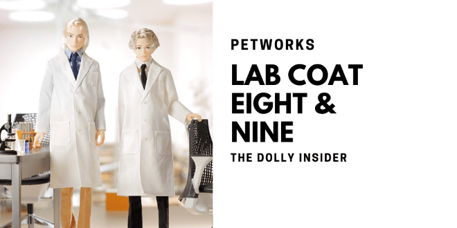 One-Sixth Scale Boys & Male Album:  Lab Coat Style Eight and Nine by PetWORKs