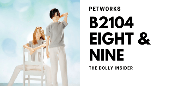 One-Sixth Scale Boys & Male Album: B2104 Eight and Nine by PetWORKs