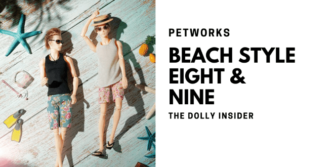 One-Sixth Scale Boys & Male Album: Beach Style Eight and Nine by PetWORKs