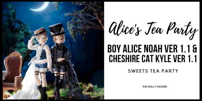Alice's Tea Party Boy Alice Noah ver. 1.1 & Cheshire Cat Kyle ver. 1.1 by Azone International
