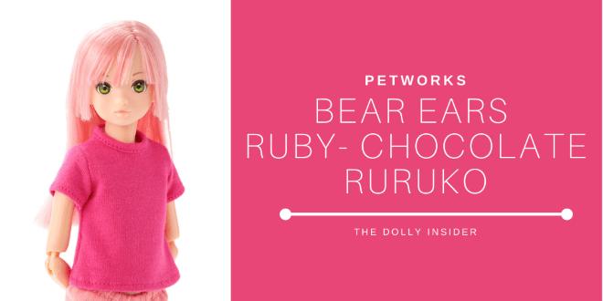 Bear Ears, Ruby-Chocolate Ruruko - PetWORKs