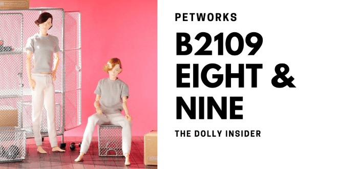 One-Sixth Scale Boys & Male Album: B2109 Eight and Nine by PetWORKs