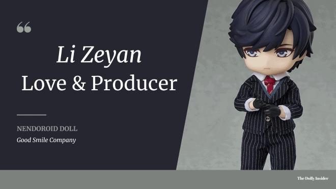 Nendoroid Doll - Love & Producer Li Zeyan: Min Guo Ver. by Good Smile Arts Shanghai