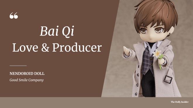 Nendoroid Doll - Love & Producer Bai Qi: Min Guo Ver. by Good Smile Arts Shanghai